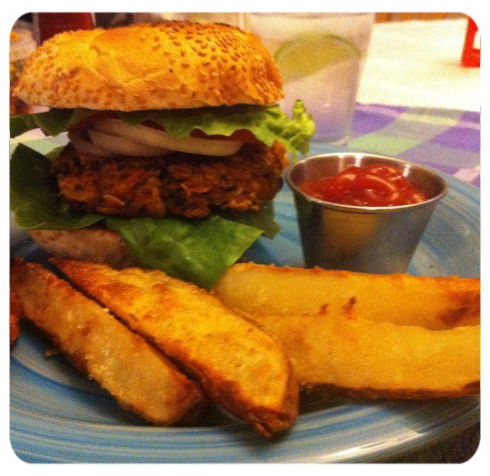 Sweet Potato Black Bean Burger | Best veggies ever!!! | Pinterest