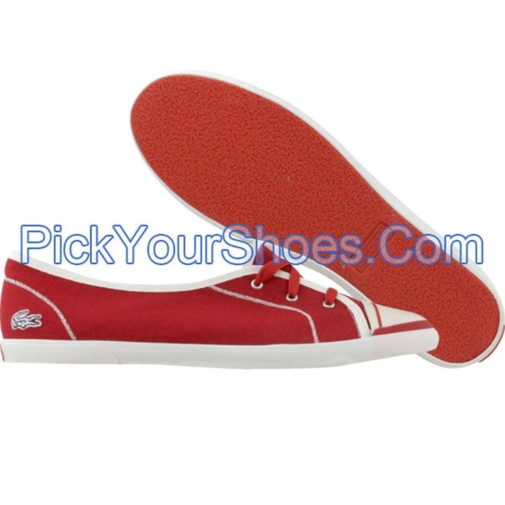 Lacoste Womens Valini SRW (red) 7-19SRW5384047 - $74.99