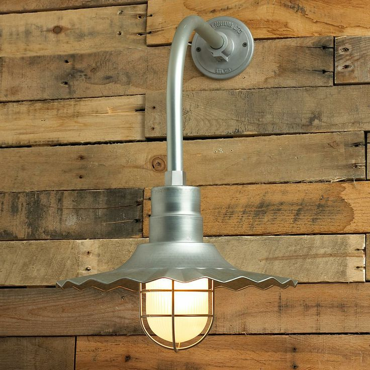 Piecrust Industrial District Outdoor Wall Light