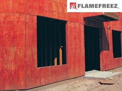 Flamefreez Fire Retardant Sheathing Building Material Products