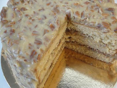 Southern Pecan Praline Cake | Pinterest Is Making Me Fat | Pinterest
