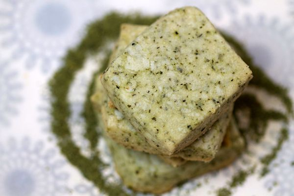 Matcha Green Tea Shortbread Cookie | It's all about the Cookie...What ...