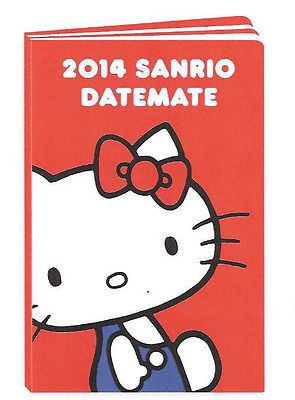 Official 2014 sanrio hello kitty datemate