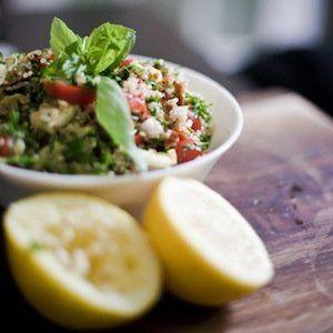 Quinoa Salad - This recipe includes grape tomatoes, zucchini ...