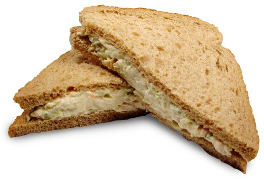 Smart swaps: Canned tuna with mustard, avocado/guacamole, or hummus ...