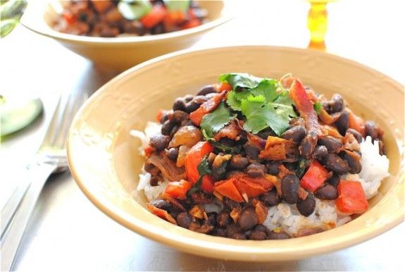 Simple Black Beans and Rice! | Rice is nice (and other grains) | Pint ...