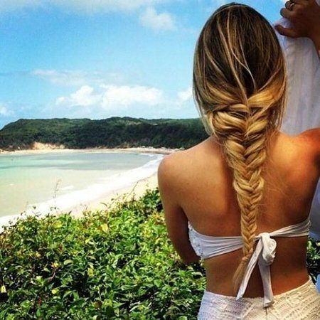 Fishtail - #hairstyle #fishbraid #summerhair #hair - bellashoot.com
