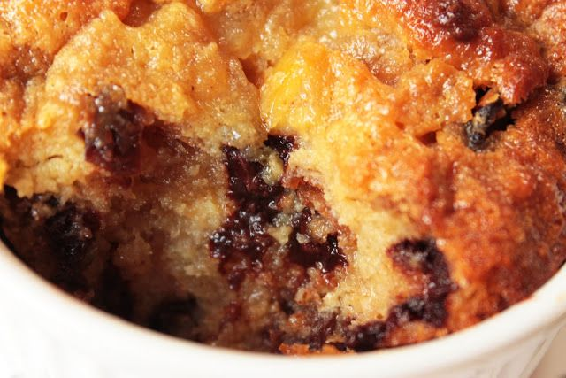... : Christmas Leftover Panettone Eggnog Chocolate Chip Bread Pudding