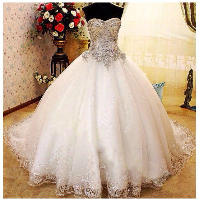 Cinderella wedding dress wedding ideas pinterest for Cinderella wedding dress up
