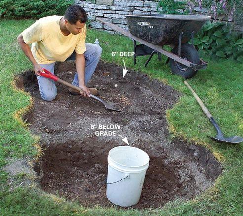 Easy Low Maintenance Water Feature Diy Pinterest