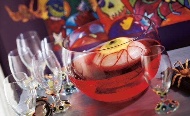 Eyeball Ice Ring for Punch Bowl