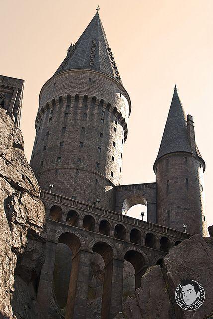 Universal Studios Inside Hogwarts Castle