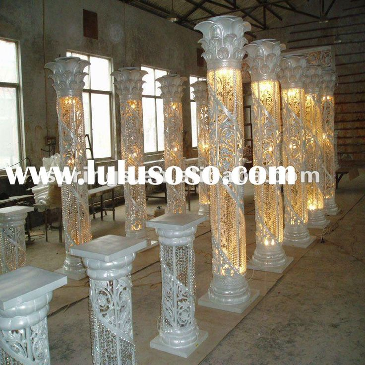 Decorative Lighted Columns For Weddings Ask Home