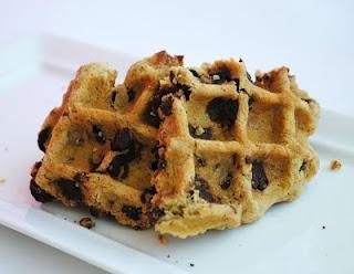 Oatmeal Chocolate Chip Waffle Cookies | Cookies | Pinterest