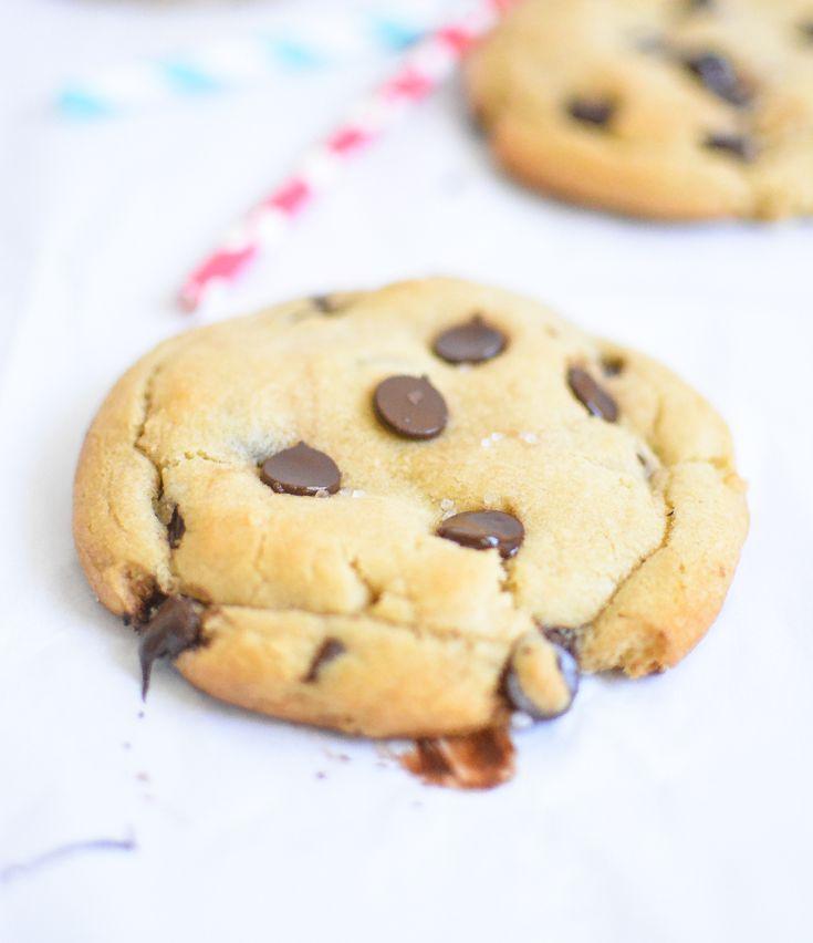 Sea Salt and Caramel Chocolate Chip Cookies | Recipe