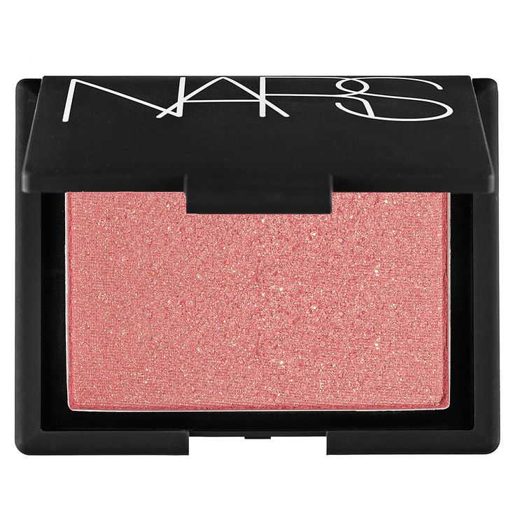 Blush - NARS | Sephora.  Super Orgasm - peachy pink with gold glitter