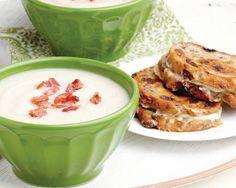 Bacon, Cauliflower & White Bean Soup (Serve with Gruyere & Raisin ...