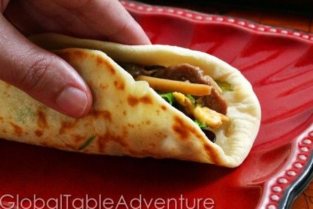 Chinese Pancakes with Green Onion | Recipe