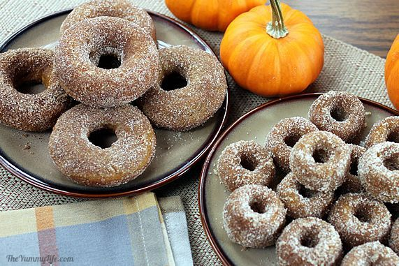 whole wheat maple pumpkin donuts w/ glaze. I've died!!!!!