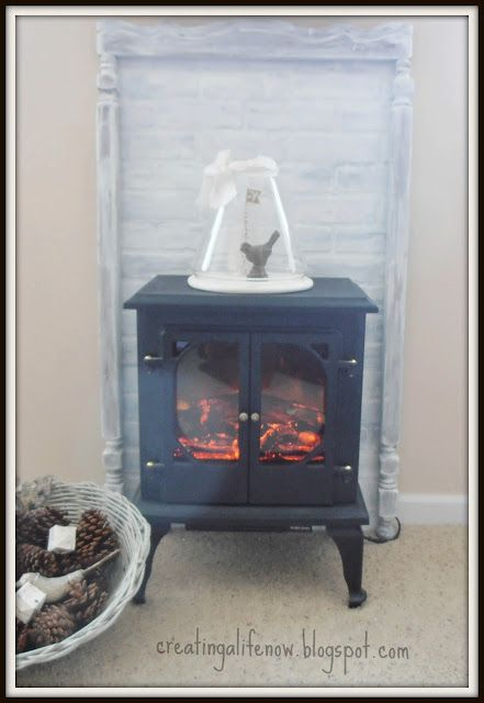 faux fireplace mantel barn house pinterest
