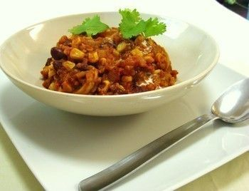 Hearty three-bean Chicken chili | Recipes - New and Tried and True ...