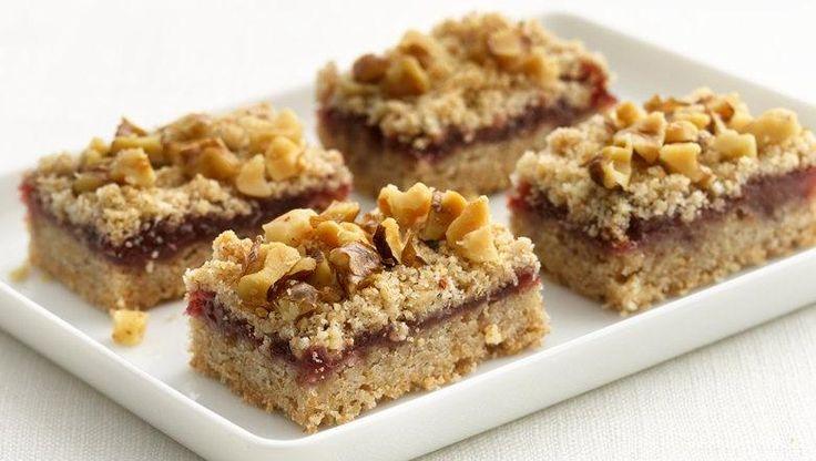 Healthified Raspberry Bars | Recipe