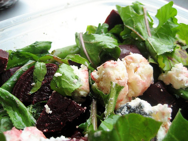 Arugula Salad With Beets And Goat Cheese Recipe — Dishmaps