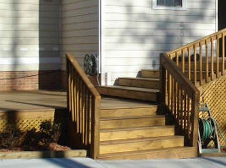 Wooden Outdoor Steps Sun Deck Ideas Pinterest