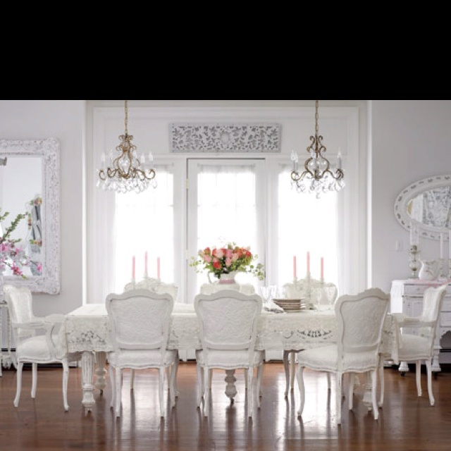all white dining room architecture and interiors pinterest