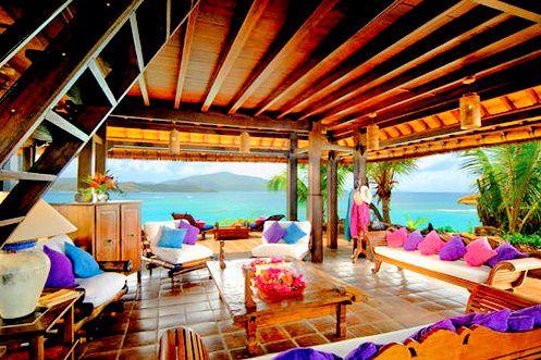 Tropical Colors My Surf House On The Beach Pinterest