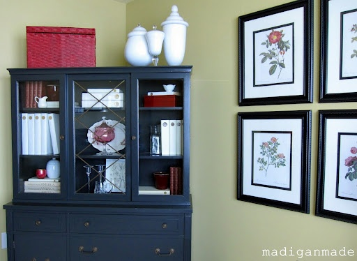 China cabinet display ideas