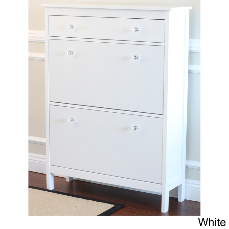 shoe cabinet with storage drawer perfect for entry