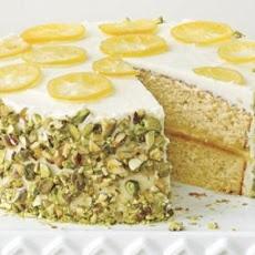 Lemon-Pistachio Crunch Cake Recipe | Pistachio | Pinterest