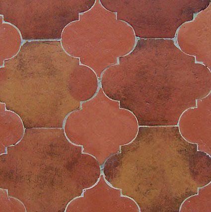 Mexican Tile Designs Mexican Rustic Clay Floor Tiles House Ideas