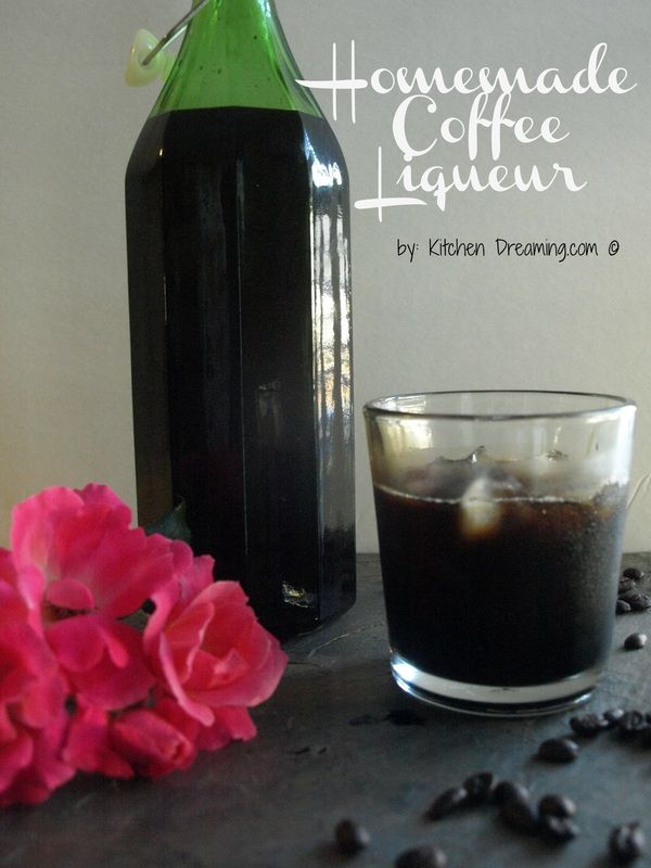 Homemade Coffee Liqueur | frugal finds | Pinterest