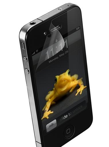 Pellicola schermo per iphone 4 e 4s electromania co x2 @25 98€