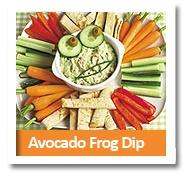 Avocado Frog Dip