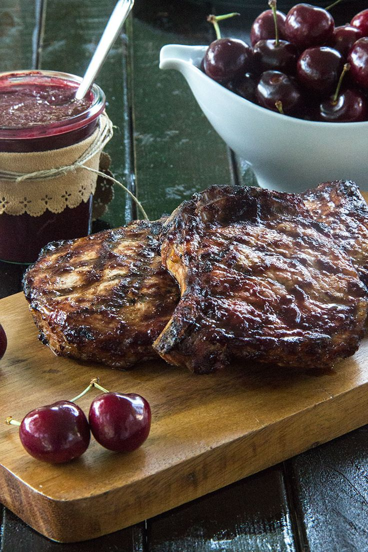 ... Minute Homemade Cherry Barbecue Sauce (for Grilled Chicken or Pork