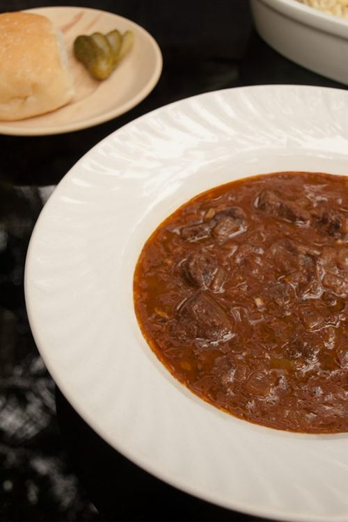 Beef goulash - gulasch or gulyás | food | Pinterest