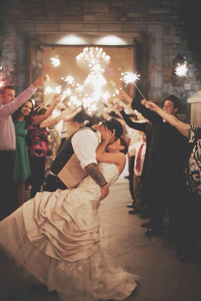 Sparkler Send Off Castle Wedding