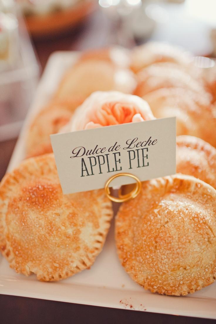 Dulce de Leche apple hand pies. Gluten free. The Nichols Photography.
