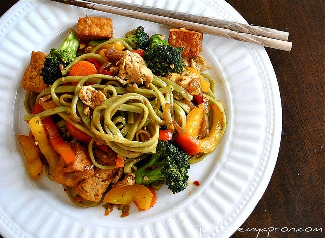 broccolini pad see ew recipes dishmaps tofu and broccolini pad see ew ...