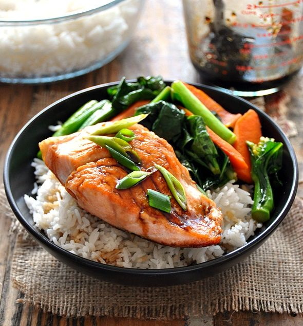 ... with Sautéed Carrot & Chinese Broccoli | www.fussfreecooking.com