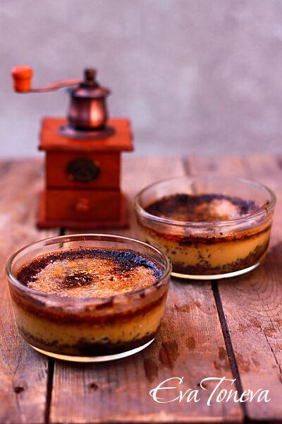 Coffee creme brulee   Desserts   Pinterest