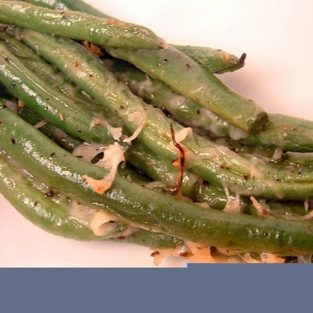 Parmesan-Roasted Green Beans | Side Dishes | Pinterest