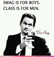 and super men have classy swag, wink
