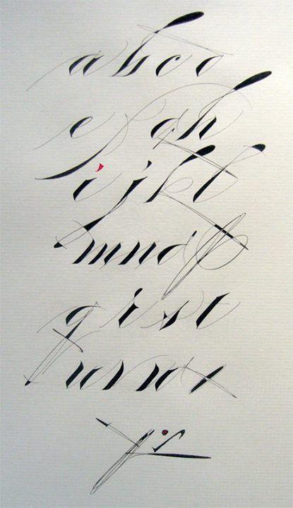 James fazz farrell calligraphy pinterest