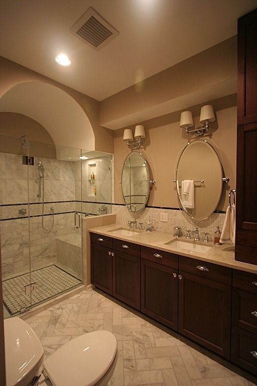 Decoracion De Baños Master:Mediterranean Master Bath Bathroom