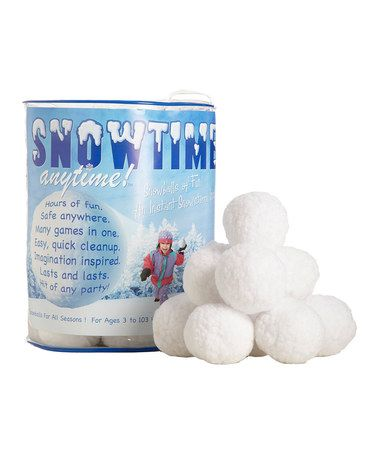 Tub of 40 Snowballs by Snowtime Anytime