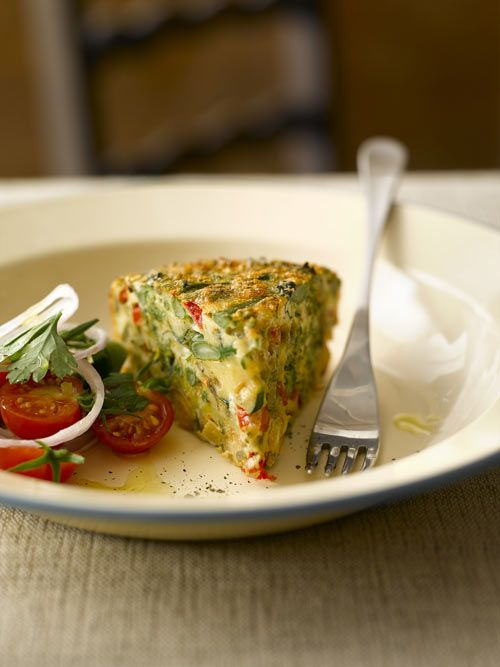 Tenderstem® Broccoli & Chickpea Frittata | Healthy Pescetarian - Lact ...